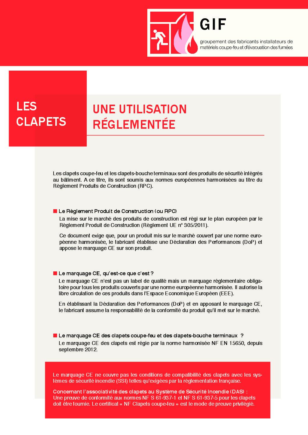 Plaquette GIF - CLAPETS